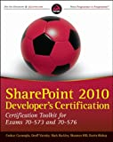 Sharepoint 2010 Developer's Certification, Coskun Cavusoglu and Kris Wagner, 0470912340