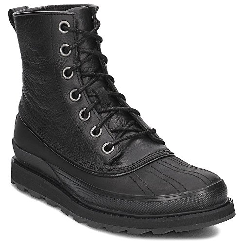 Sorel Men's Madson 1964 Waterproof Boot -Black/Noir (9)