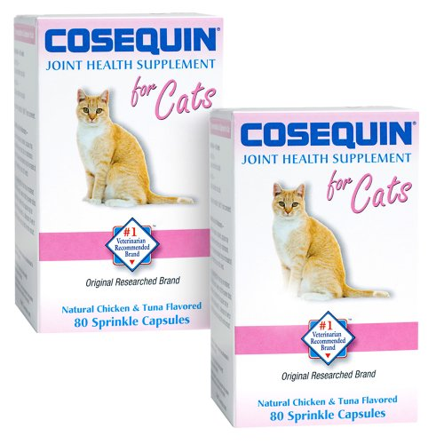 Cosequin Tablet for cats, 80 Count, 2-Pack, My Pet Supplies