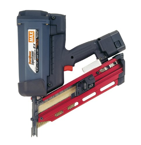 Max GS683CH-EX Cordless SuperFramer 34-Degree Nailer by Max