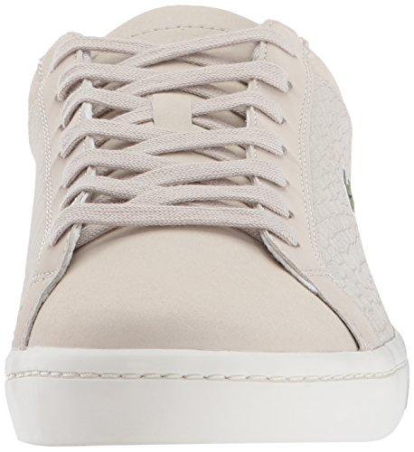 Lacoste Hombres Straightset Sp 417 1 Sneaker Light Grey
