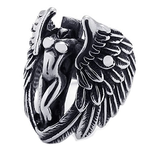 Angel Black Ring - 6