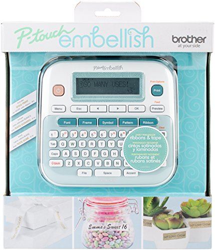 Brother P-touch Ribbon Embellish Machine -