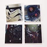 Star Wars 4 pc Glass Coasters Set