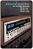 1970's Marantz Stereo Receivers Vintage Look Reproduction Sign 8x12 8122154