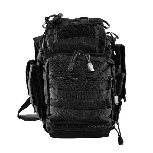 VISM by NcStar PVC First Responders Utility Bag (CVRB2918B), Black