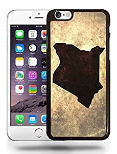 Kenya National Vintage Country Landscape Atlas Map Phone Case Cover Designs for iPhone 6 Plus