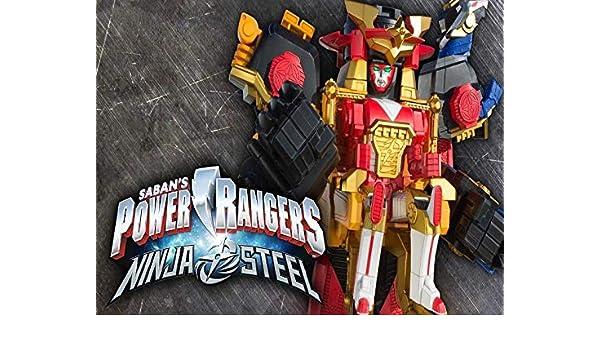 Power Rangers Ninja Steel Megazord Edible Cake Topper Image ...