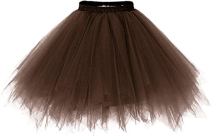 Aysimple - Falda de tul corta para niña, tutú, falda de tul, tutú ...