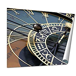Ashley Giclee Historical Astronomical Clock In Prague Orloj, 16x20 Print