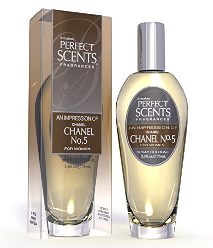 Perfect Scents Impression of Chanel #5 Cologne, 2.5 Fluid...