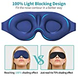 3D Sleep Mask, New Design Light Blocking Sleeping