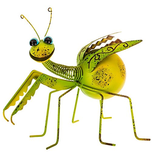 Praying Mantis Metal Decor
