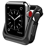 Wolait Compatible with Apple Watch Case 42mm, Rugged...