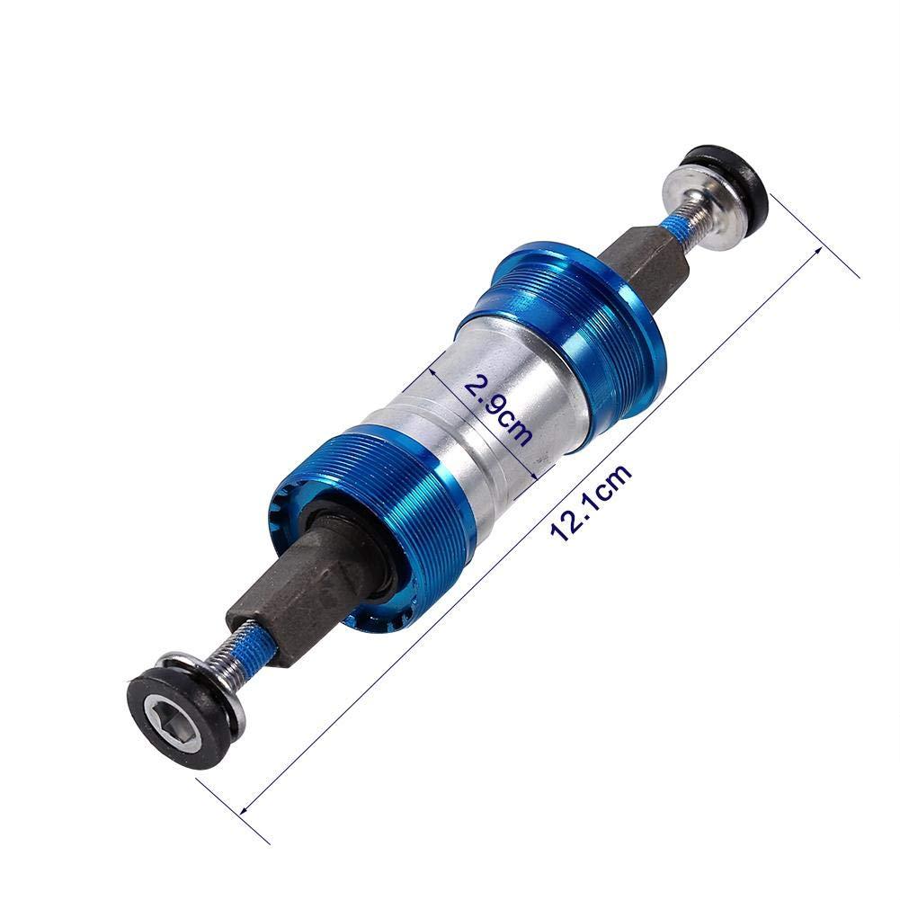 Tbest Support de Bas de V/élo Route Mountain Bike Roulement de V/élo Support Inf/érieur en Aluminium Roulement Inf/érieur de V/élo Support Central Vis /Étanche Support Inf/érieur Outil de Retrait