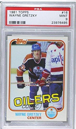 Wayne Gretzky PSA GRADED 9 (Hockey Card) 1981-82 Topps - [Base] #16 ()