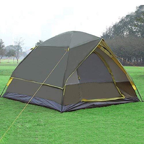 FXX Guo Outdoor Outdoor Produkte Outdoor Outdoor Automatische Camping 3-4 Personen Verwenden Zelte, Glasfaser-Stangen sicher und Langlebig, Home Camping Tragbare Zelte f140ab