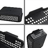 Begale Plastic Desktop Storage Trays Baskets