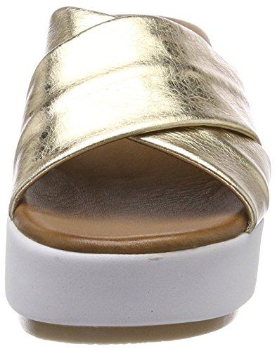 Inuovo 8696, Chanclas Para Mujer Gold (Gold)