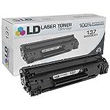 LD Compatible Canon 137/9435B001 Black Laser Toner Cartridge for use in Canon ImageClass MF212w, MF216n, MF227dw, MF229dw, LBP151dw Printers