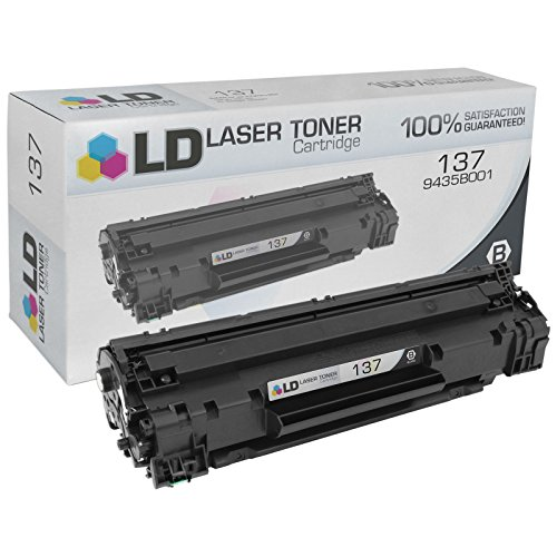 LD Compatible Canon 137/9435B001 Black Laser Toner Cartridge for use in Canon ImageClass MF212w, MF216n, MF227dw, MF229dw, LBP151dw Printers by LD Products