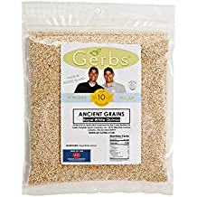 Royal White Quinoa by Gerbs - 4 LBS - Top 11 Food Allergen Friendly & NON GMO – Vegan & Kosher – Product of USA