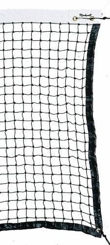 Markwort Home Court Tennis Net with Reinforced Top Binding by Markwort