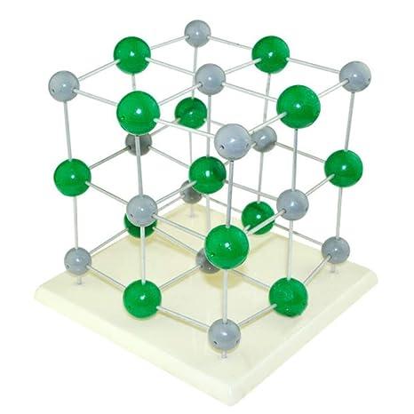 Bbyt Químico Molecular Estructura Modelo Cloruro De Sodio