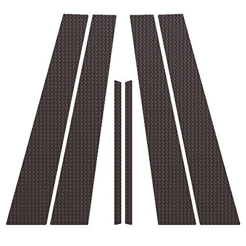 Ferreus Industries Carbon Fiber Pillar Post Trim Cover fits: 2006-2014 Lexus IS (4 Door Sedan) PIL-055-CF-01