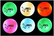 Night Eagle CV LED Golf Balls - Light Activated - No Timer - 6 Pack