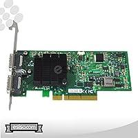 Mellanox ConnectX Dual 4X 20Gb/s PCI Express 2.0 x8 InfiniBand Network Adapter 46M2221 / 44R8724 Mfr P/N MHGH28-XTC (Bulk Package)