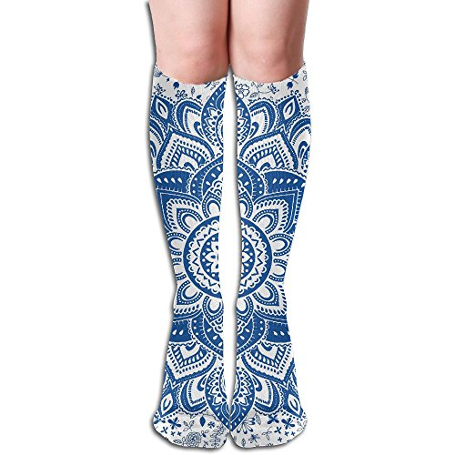 Length Knee Cycling 69 Compression Womens Soccer High Stance New Sports Retro 2018 Snowmen For 5 19 Christmas Unisex Year color Yoga Cocktail Running Sand Mens For Socks Stocking Inch Knee RwYSqxA