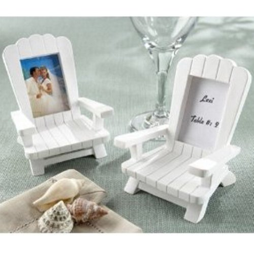 Beach Memories Miniature Adirondack Chair Place Card/Photo Frame (Set of 48)