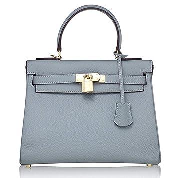 06fefecb86 Macton, Borsa a tracolla donna Blu hellblau: Amazon.it: Scarpe e borse