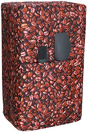 """Coffee Maker Cover, Small Smart Kitchen Appliance Dust Cover, Universal Home Kitchen Appliance Organizer Bag, Kitchen Machine Protectors Hold Appliances Up To 7""""W x 9""""L x 16.5""""H (Y03)"""