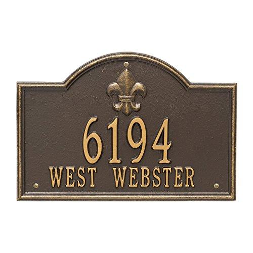 Bayou Address Plaque 15