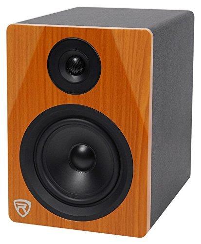 Rockville DPM5C 5.25 2-Way 150W Classic Wood Active/Powered Studio Monitor Speaker [並行輸入品]   B078HWXMQM