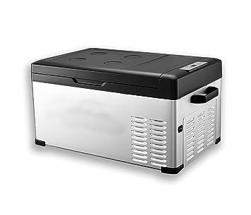 GEGEQUNAERYA Refrigerador pequeño eléctrico casero del Viaje del hogar
