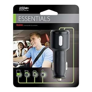 Kodak Essential CA2 Dual USB Car Adapter