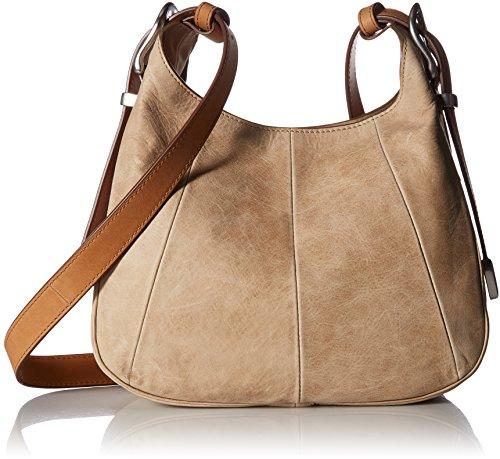FRYE Jacqui Crossbody Leather Handbag, Sand by FRYE