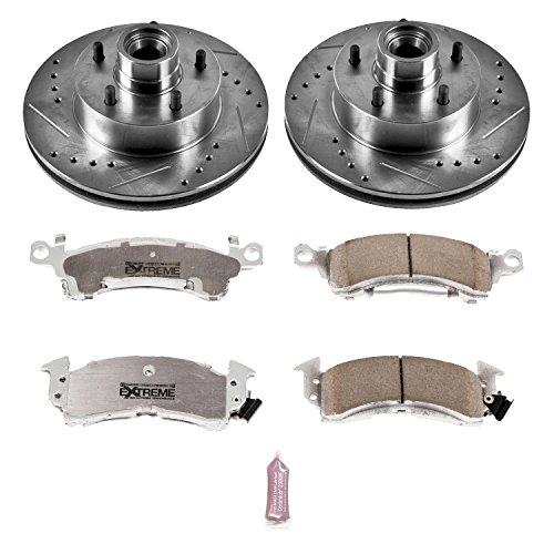 Power Stop K2580-26 1-Click Street Warrior Z26 Brake Kit
