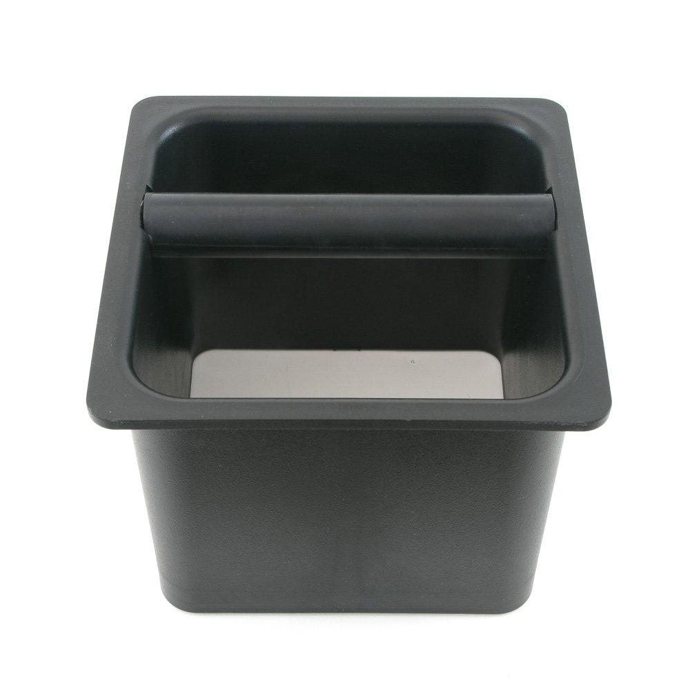 Espresso Parts EPKB665B Barista Basics (6'' X 6'' X 5'') Open Bottom Knockbox 6''x6''x5'', 6X6X5''