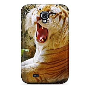 Brand New S4 Defender Case For Galaxy (golden Tiger)