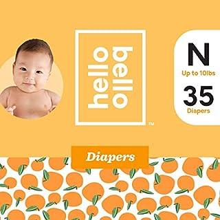 Hello Bello Diapers Jumbo Pack - Sweet Oranges - Size N (35ct)