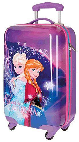 Maleta Trolley Juvenil Frozen Magic