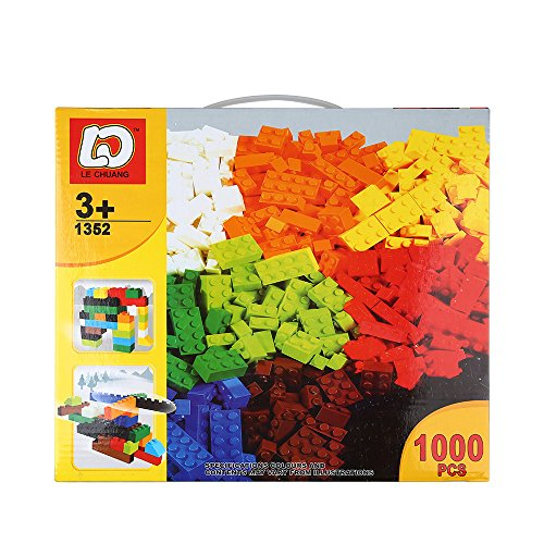 Childrens Drum Major Costume (SainSmart Jr. 1000 Pcs Bulk Blocks with A Play Mat, Building Bricks with 10 Shapes and Colors, Compatible with All M)