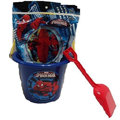 Spiderman Sand Bucket with Beach - Spiderman Halloween Bucket