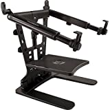 "Ultimate Support Hyperstation QR Hyper Series Desktop and 5/8"" Thread Mountable Laptop/DJ Stand"