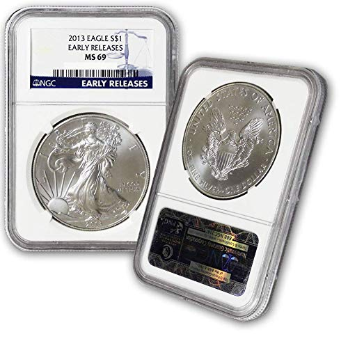 2013 American Silver Eagle $1 MS69 NGC Early Releases