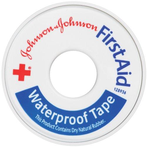 Johnson et Johnson Croix-Rouge de bande imperméable à l'eau de secourisme 1/2 po X 10 verges (Pack de 3)